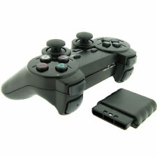 Wireless 2.4GHz Dual Shock Game Controller for Sony PS2 Playstation 2