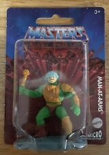 MOTU Micro Collection 2021 MAN-AT-ARMS FIGURE Mattel He-man One Inch Scale