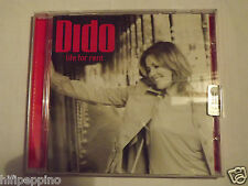 "DIDO ""LIFE FOR RENT"" CD"