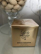 Paco Rabanne LADY MILLION 50ml PERFUME SPRAY Brand new retailed sealed in Box
