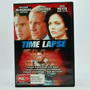 Time Lapse DVD 2001 William McNamara Roy Sheider Dina Meyer GC