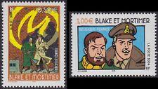 2004 FRANCE N°3669/3670**  Blake et Mortimer Bande Dessinée Edgar-Pierre Jacobs