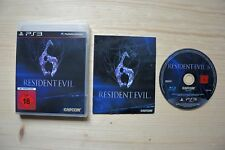 PS3 - Resident Evil 6 - (OVP, mit Anleitung)
