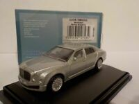 Model Car, Bentley Mulsanne - Silver, 1/76 New