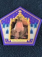 Harry Potter chocolate frog card Albus Dumbledore