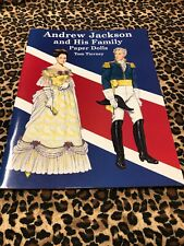 Paper Dolls Tim Tierney Uncut Andrew Jackson And His Family