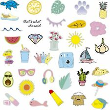 Stickers Decals for Girls (50 Pack) for Hydroflask Made In Usa - Waterproof