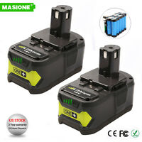2Pack 18VOLT P108 for RYOBI 18V ONE PLUS Lithium-Ion High Capacity Battery 4.0Ah
