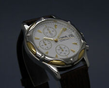 New old stock LORUS by SEIKO CHRONOGRAPH vintage watch NOS V657-X004