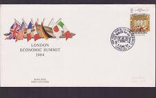 1984 Great Britain UK FDC London Economic Summit royal mail N-42