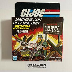 Hasbro G.I.JOE ARAH 1984 Machine Gun Defense Unit MIB Sealed Contents