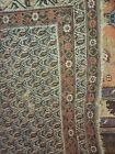 Antique Meshed Hooked Lozenge Design Carpet