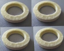 04-2055 x 4 NORTON DOMMIE SINGLE F/BED FOOTREST SPACER TUBE FELT SEAL WASHERS