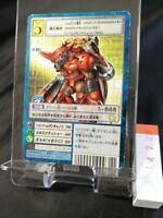 Digital Monster Chaosdramon St-807 Japanese card Gold Stamp 20th Anniversary 723