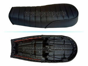 Royal Enfield Customized Dual Seat Black For GT 650 & Interceptor 650