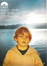 CAST Magic Hour 1999 UK magazine ADVERT/Poster/clipping 11x8 inches