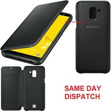 Genuine Samsung Flip Case Galaxy J6 2018 Mobile cell phone cover sm  j600fn