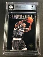 SHAQUILLE O'NEAL SHAQ 1993 SKYBOX PREMIUM CENTER STAGE FOIL INSERT MINT BGS 9