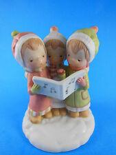 "Betsey Betsy Clark Caroling Girls Figurine The Sweetest Sound of Christmas 5"""