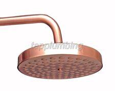 "Antique Red Copper 7.7"" inch Round Bathroom Rainfall Shower Head"
