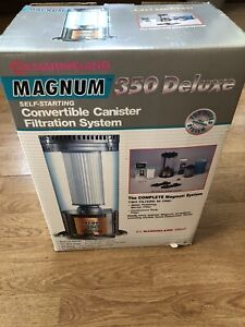 Marineland 350 Deluxe Canister Filter New!