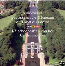 BELGIË BU SET 2007 MET GEKLEURDE PENNING