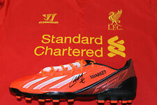 LUIS SUAREZ (LIVERPOOL) SIGNED FOOTBALL BOOT UNFRAMED + PHOTO PROOF & C.O.A