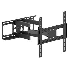 DUAL ARM ARTICULATING LCD LED PLASMA TV WALL MOUNT BRACKET 32 36 40 42 46 50 55
