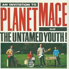UNTAMED YOUTH Invite You To Planet Mace LP SEALED 1997 SURF GARAGE VINYL