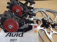 New Avid BB7 Mountain Mechanical Disc Brake Front Rear Caliper+ HS1 160mm Rotor