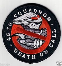 SPACE ABOVE AND BEYOND 46TH SQUADRON  PATCH - SAAB02