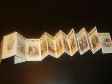 Misterio del Santo Rosario andachtsbild santino holy card santini