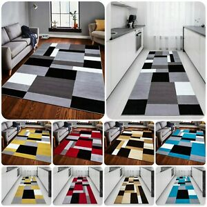 Modern Hand Woven Extra Large KILAS Rugs Bedroom Kitchen Hallway Runners Carpets