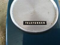 Telefunken Mini Partner 101 Taschenradio Transistor Portable Made in Germany