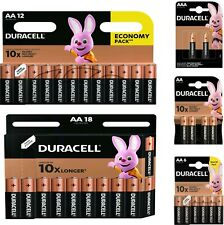 Duracell AA Batteries Long Lasting Power Alkaline Economy 4/6/12/18 Battery LR6