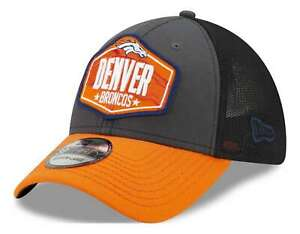 New Era - NFL Denver Broncos 2021 Draft 39Thirty Trucker Stretch Cap - Mehrfarbi