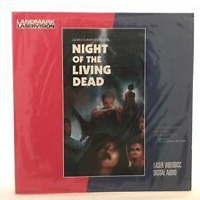 George Romero's Night of the Living Dead Laserdisc Vintage Cult horror