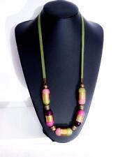 Wooden Costume Necklaces & Pendants 66 - 70 Length (cm)