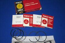 Segments Perfect Circle  pour Renault 8 - R8 - Floride S - Moteur 689