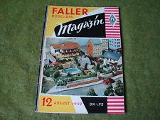 Faller ams   - Magazin Nr. 12