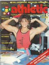 Athletic Journal Bodyduilding Muscle & Fitness Eugene Sandow Georg Hackenschmidt
