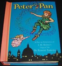 Peter Pan Pop Up Adaptation J M Barrie Robert Sabuda NEW Classic Collectible