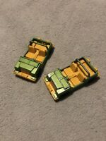 2 Vintage Corgi Cubs Jeep - Made In Gt Britain