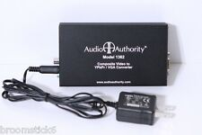 Audio Authority 1362 Composite Video To YPbPr to VGA Converter With Power Supply