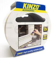 Kinzo Malerband Tape Kreppband Klebeband Abklebeband 2 x 25m/24mm 2-Teilig (F72)