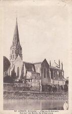 LANGON 32 l'église saint-gervais