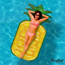 Perfect Pools GIANT 6ft PREMIUM Pineapple Swimming Pool Float Lilo Lounger 180cm
