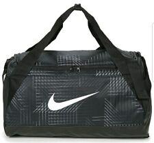 Nike Brasilia Small Training Duffel Gym Overnight Travel Black Bag BA5433-011