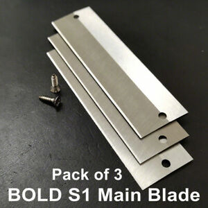 CHIPPERS AND PEELERS BOLD-S1 – Potato Chipper Main Blade - PACK OF 3