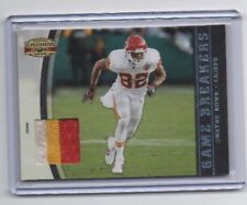 Dwayne Bowe 3 Color Jersey Card # 43 / 50  NEXT DAY SHIP AFTER PAID